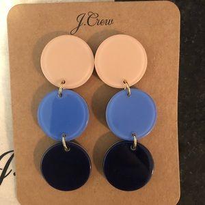 NWT JCREW Resin Drop Earrings